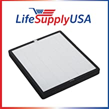 LifeSupplyUSA Replacement Filter Kit Compatible with Surround Air XJ-3100SF for Intelli-Pro 3-Air Purifier