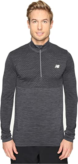 M4M Seamless Quarter Zip Top