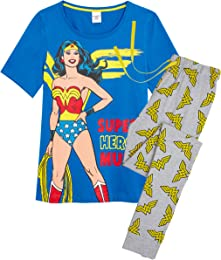 Pyjama Femmes Wonder Woman, Ensemble de Pyjama 2 P