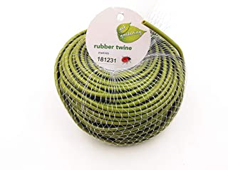 TIPU Soft Rubber Garden Twine, Soft Stretch Plant and Tree Tie, Hollow Stretch Rubber Twine Expands with The Growth Plant/...