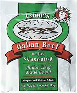 Louie's Italian Beef Seasoning, 3-ounce (Pack of 2)