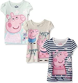 Peppa Pig Girls Short-Sleeve T-Shirt (Pack of 3)