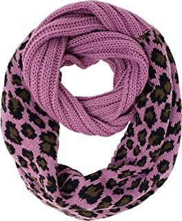 Funky Junque Kids Baby Beanies Matching Cable Knit Winter Infinity Scarf