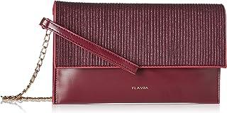 Flavia Women's Clutch (Wine)