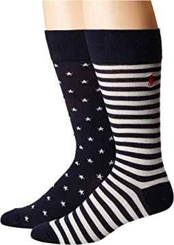 Polo Ralph Lauren - Stars & Stripes 2-Pack Socks