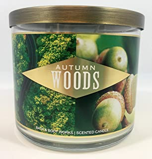 Bath & Body Works Autumn Woods Scented Candle 14.5 oz. 411g