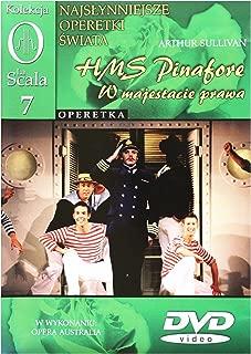 Kolekcja La Scala: Operetka 07 - HMS Pinafore, W majestacie prawa [DVD] (English audio)