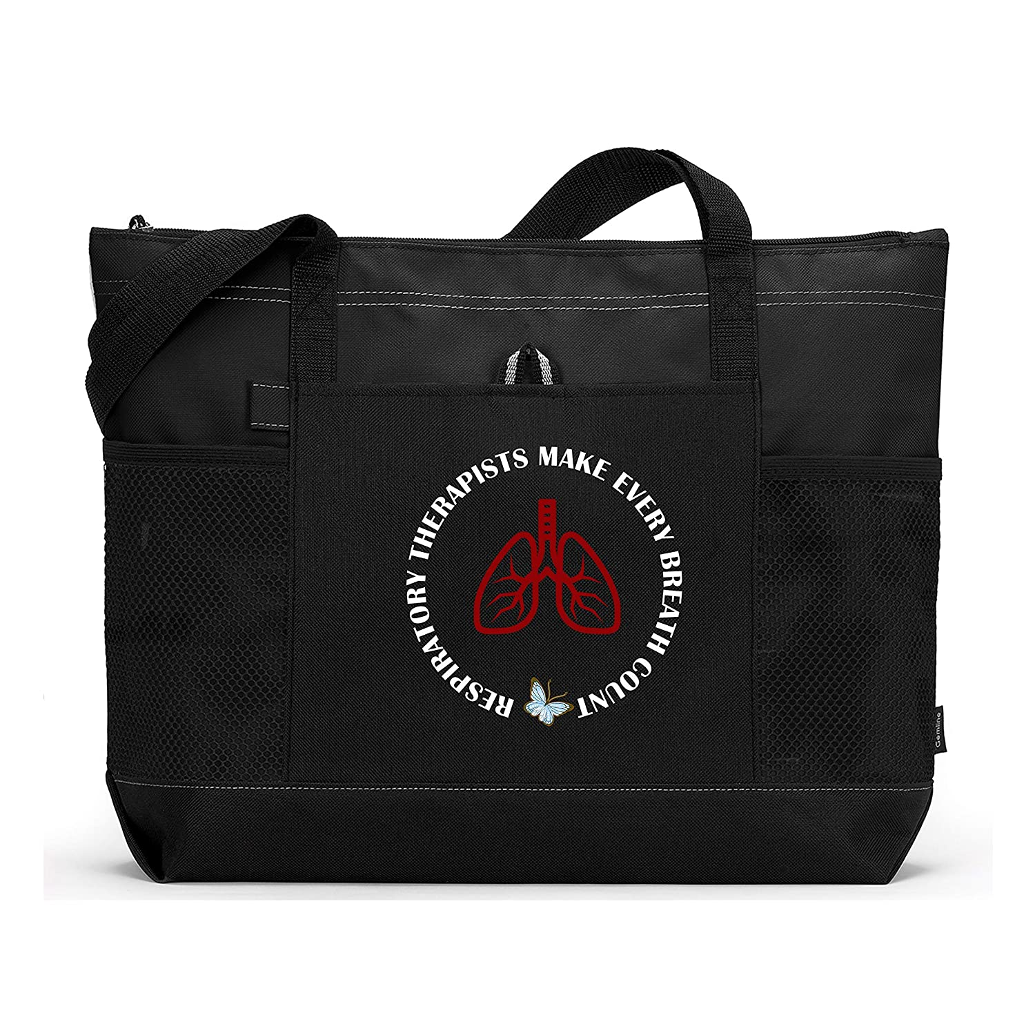 Respiratory Japan Maker New Therapists Make Every Breath Tote Black wi Bag Count Ranking TOP8