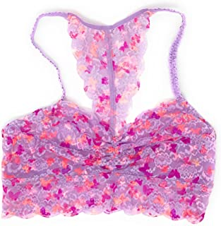 Pink Lace Bralette
