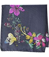 Eton - Floral Dot Pocket Square