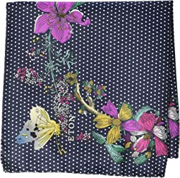 Floral Dot Pocket Square