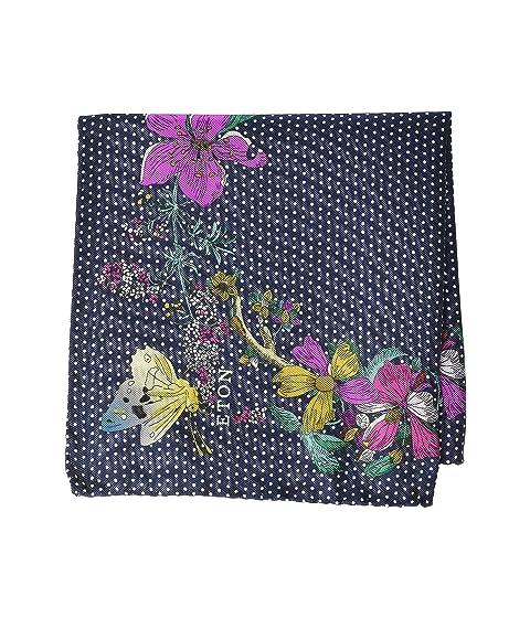 Eton Floral Dot Pocket Square