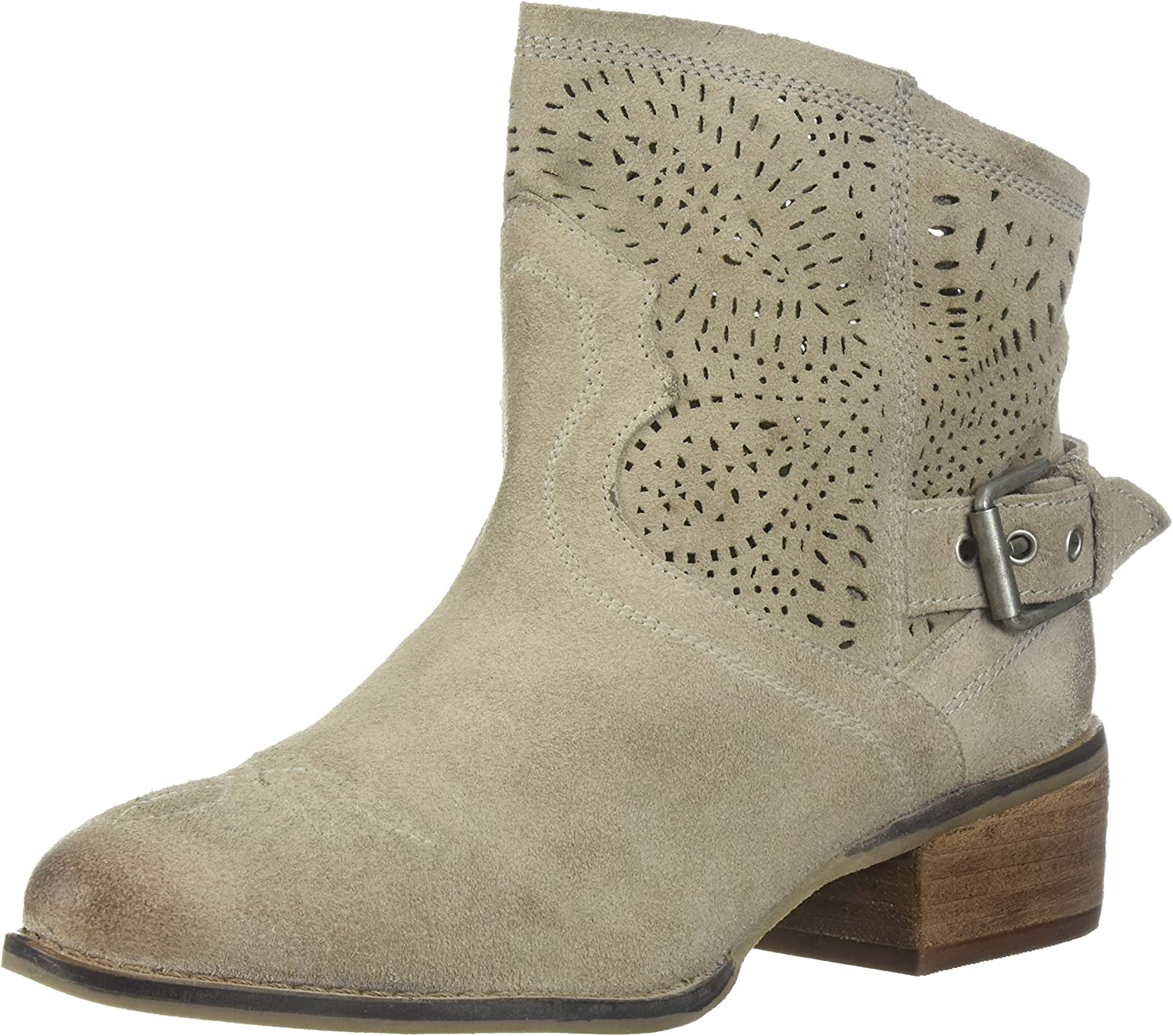 Naughty Monkey Womens Zoey Ankle Bootie