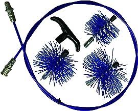 Kit Deshollinador P/Tubos Estufa Muelle Flexi cm. 200cm.8–10–12