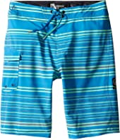 Volcom Kids - Magnetic Liney Mod Boardshorts (Big Kids)