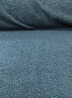 Italian Faux Sheepskin Gray Upholstery Fabric By The Yard