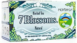 Mondaisa All Natural Tea (7 Blossoms, 4 Pack)