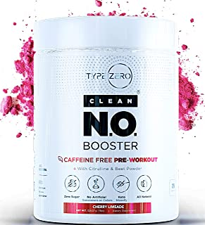 Nitric Oxide Supplement - Caffeine Free Pre Workout w L Arginine Citrulline Malate, Beet Root Powder & AAKG—Powerful Nitrous Oxide Booster for Keto Diet + Natural Stim Free Preworkout No2 Supplements