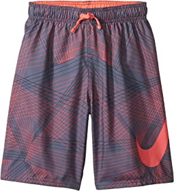 "Flywire Line Swoosh Breaker 8"" Trunks (Big Kids)"