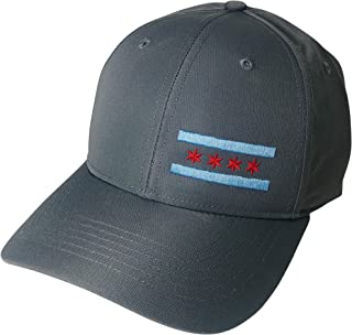 Embroidered Chicago Flag Lightweight Performance Hat