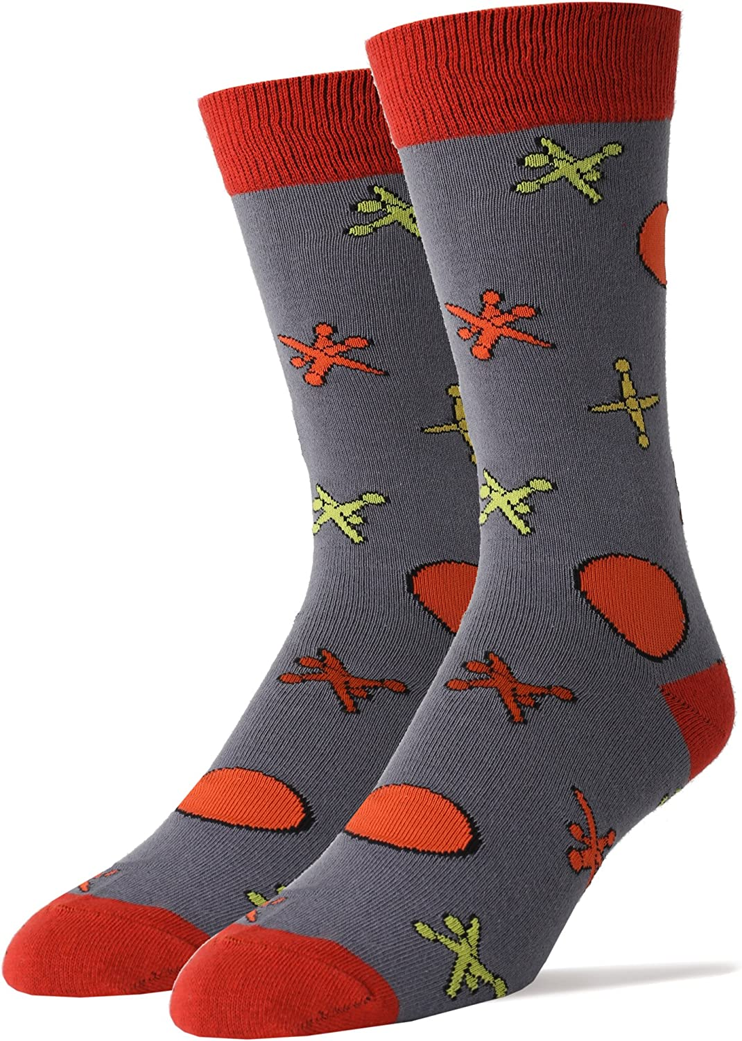 Men's Novelty Crew Socks for Throwbacks Oooh Fun OFFicial Funny Yeah free Soc