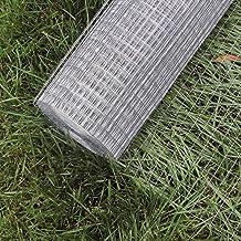 Wiltec Gaasdraad, draadgaas, volièregaas, gegalvaniseerd staal, 1 m x 25 m, 0,75 mm, draaddikte 19 x 19 mm, maasafmetingen