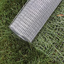 Grillage Mailles Grille métallique Volière Acier Galvanisé 1mx25m Épaisseur Fil 0,7mm Maille 12x12mm