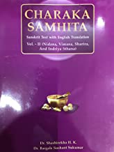 CHARAKA SAMHITA VOL.-II ( Sanskrit Text with English Translation )