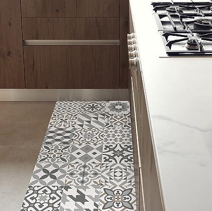 MAMUT Big Design Tapis DE Cuisine Antidérapant Et Ignifuge. Se Nettoie  Facilement à Lu0027