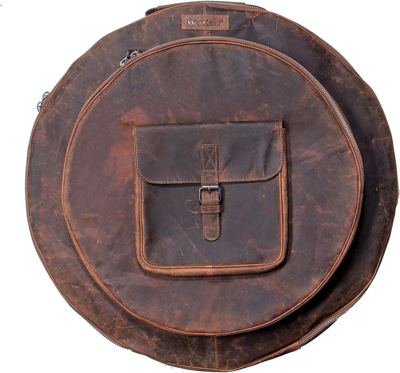 WerKens Leather Cymbal Bag 22