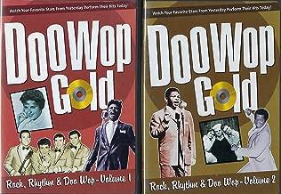 Doo Wop Gold ~ Rock, Rhythm & Doo Wop : Volumes 1 and 2 [2 Disc Set]