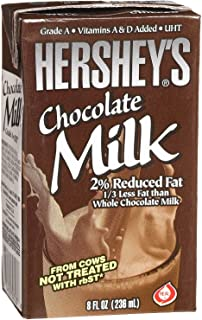 Hershey's 2% Chocolate Milk, 27- 8 Ounce Aseptic Boxes (Chocolate, 27)