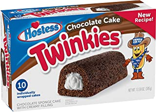 Hostess Chocolate Cake Twinkies, 10 Count