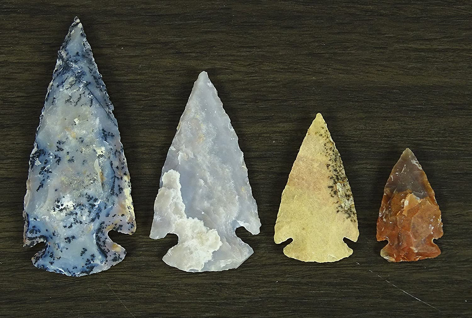 Reikiera San Francisco Mall Handmade Indian Agate Stone Small of Very popular Set Spearhead In 8