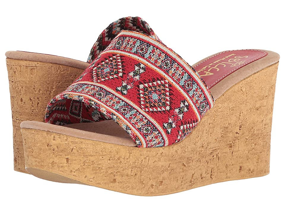 Sbicca Salice (Red Multi) Women