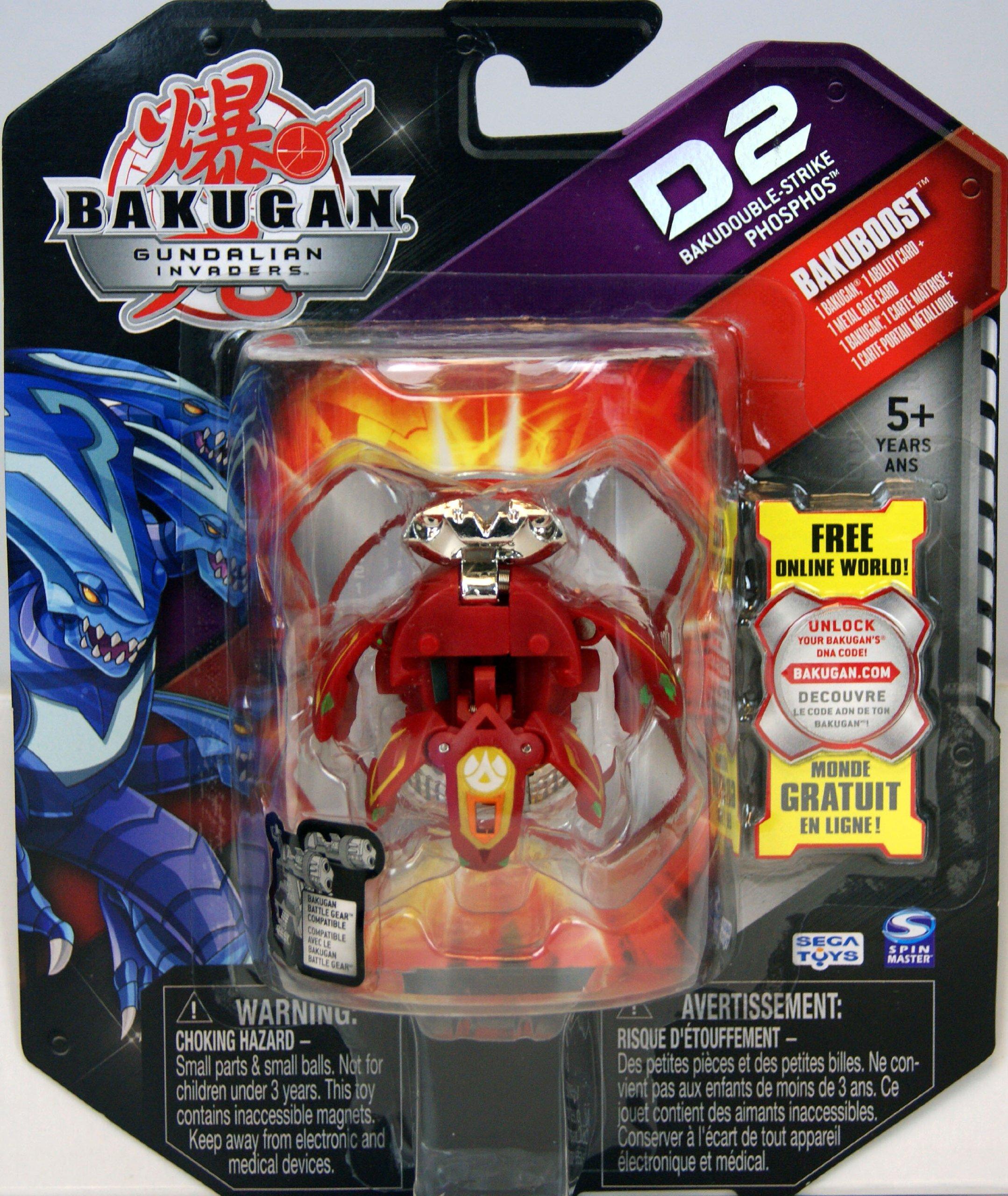 Bakugan Gundalian Invaders Deka Boomix Season 3 avec bakucoin Toy