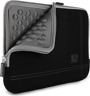 حقيبة كمبيوتر محمول رمادية سوداء ماصة للصدمات مناسبة لأجهزة Lenovo IdeaPad ثينك باد ، يوجا 13.3 بوصة من SumacLife