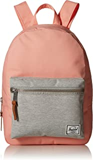Herschel Supply Co. Grove X-Small Backpack, Peach/Light Grey Crosshatch, One Size