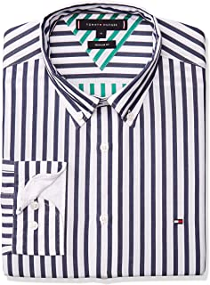 TOMMY HILFIGER Two Tone Dobby Stripe Shirt Camisa Casual para Hombre