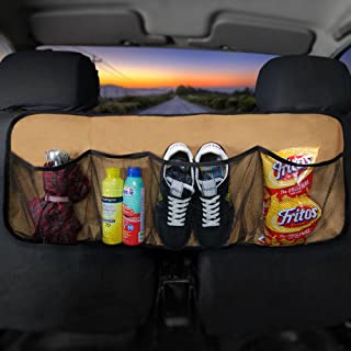 FH Group FH1122BEIGE Car Trunk Organizer (Multi-Pocket Storage Collapsible for Easy Carry Perfect for Garage or Grocery Store), 1 Pack