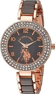 U.S. Polo Assn. Women's Quartz Metal and Alloy Casual Watch, Color:Two Tone (Model: USC40247AZ)