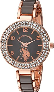 Women's Analog-Quartz Watch with Alloy Strap, Two Tone, 8...
