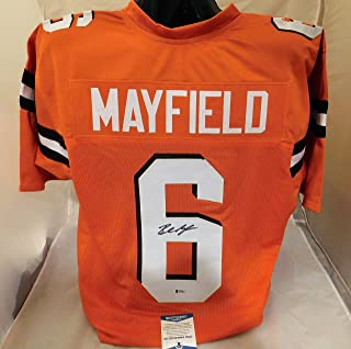 separation shoes 58366 109d2 Amazon.com: baker mayfield jersey
