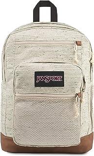 JanSport Huntington Backpack - Lightweight 15 Inch Laptop Bag, Soft Tan Plain Weave