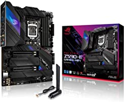 ROG Strix Z590-E Gaming WiFi 6E LGA 1200(Intel 11th/10th Gen) ATX Gaming Motherboard (PCIe 4.0, 14+2 Power Stages, DDR4...