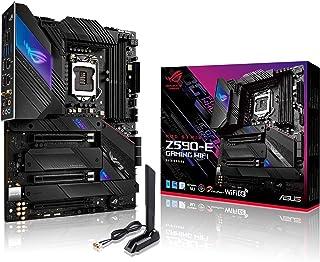 لوحة ام روج ستريكس Z590-E ،WiFi 6 اي ال جي ايه 1200 (انتل الجيل 11 و10) ATX، (PCIe 4.0، 14 زائد 2 مستويات طاقة، DDR4 5333 ...