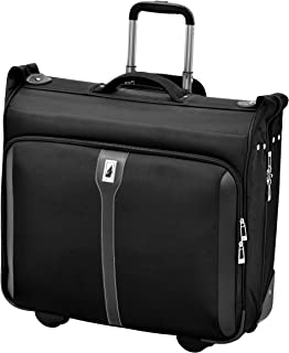 "London Fog Knightsbridge 44"" Wheeled Garment Bag, Black"