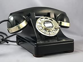 Original Western Electric Model 302 Telephone - Brass Trim with Rotatone Converter