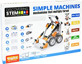 Engino Discovering STEM Simple Machines Mechanisms That Multiply Force | 60 Working Models | Illustrated Instruction Manua...