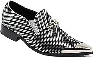 fc0d647f2deb9 Amazon.com: Silver Men's Loafers & Slip-Ons